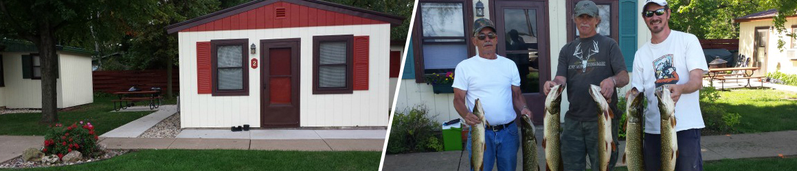 Relax and fish at Cozy Corner Cottages