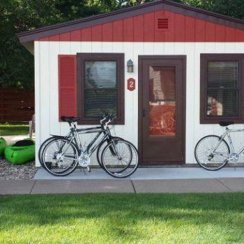 Rental Cabin 2 at Cozy Corner Cottages in Onalaska, Wisconsin
