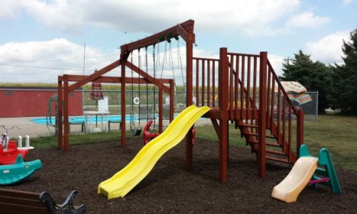 Playground at Cozy Corner Cottages